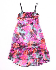 Sizes 4-6x - Kids - TROPICAL PRINT MAXI DRESS (4-6X)