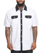 Enyce - Accent Hits S/S Button-Down (B&T)