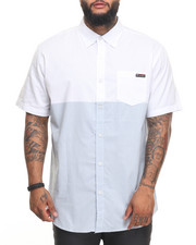 Enyce - Two Tone S/S Button-Down (B&T)