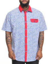 Enyce - Elephant S/S Button-Down (B&T)