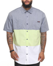 Enyce - Tri Color S/S Button-Down (B&T)