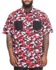 Enyce - Camo S/S Button-Down (B&T)