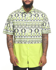 Enyce - Aztec S/S Button-Down (B&T)