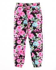 Girls - FLORAL JOGGER PANTS (7-16)