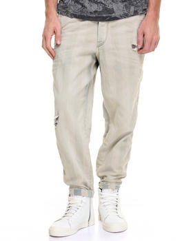 Straight - Carrot Chino - Bleached Jean