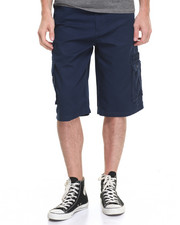Shorts - Belted Pinfile Cargo Short