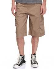 Shorts - Belted Bedford Cord Cargo Short