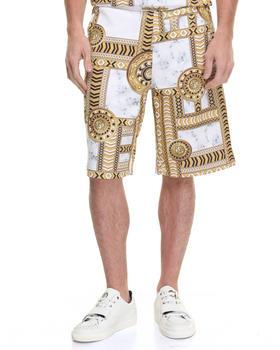 Shorts - Rococo Print Bermuda Shorts