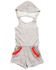 Girls - HOODED ROMPER (7-16)