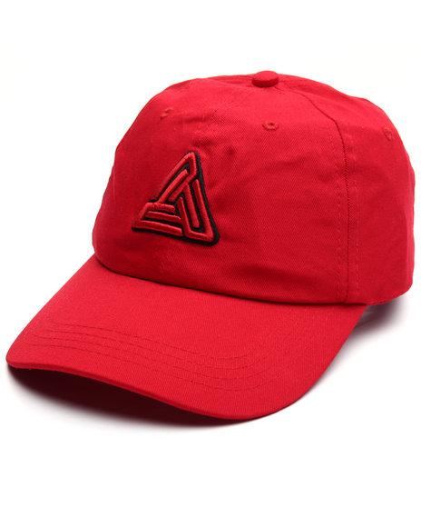 Black Pyramid Men Black Pyramid Signature Logo Hat Red 1SZ