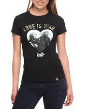 Tops - Love Is War Tee