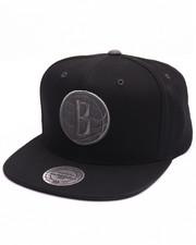 Men - Brooklyn Nets Grey Tonal Logo Snapback Cap