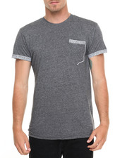 Basic Essentials - Marled Ornate - Pocket S/S Tee
