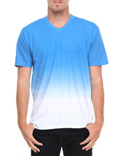Basic Essentials - Ombre V - Neck S/S Tee