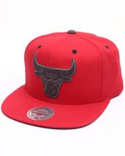 Men - Chicago Bulls Grey Tonal Logo Snapback Cap