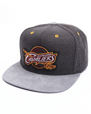 Men - Cleveland Cavaliers Cation Perforated Suede Snapback Cap