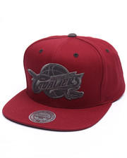 Men - Cleveland Cavaliers Grey Tonal Logo Snapback Cap