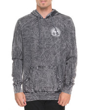 HUF - Third Eye Triangle Acid Wash Pullover Hoodie
