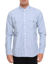 HUF - Rush Hour Chambray L/S Button-down