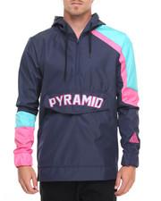 Men - Pyramid Pullover Hoodie