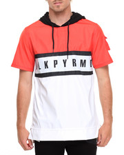 Shirts - B L K P Y R M D Tech S/S Hoodie
