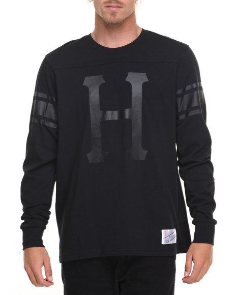 Huf Men Home Field L/S Shirt Black Medium