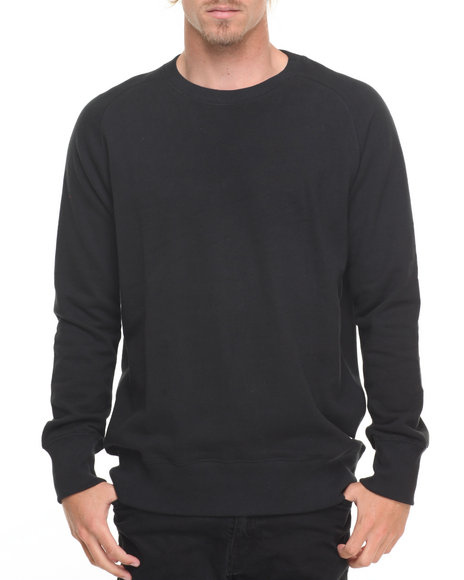 Huf Men Cadet Crew Sweatshirt Black Medium