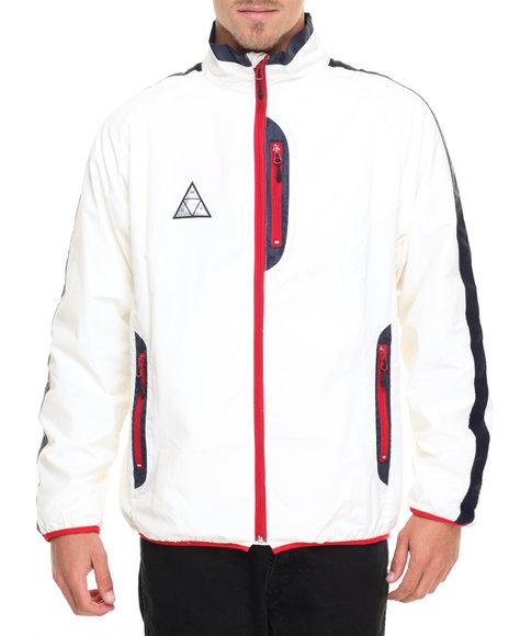 Huf Men All Set Track Jacket Off White X-Large