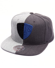 Men - Brooklyn Nets Split Heather Snapback Cap