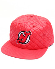 Men - New Jersey Devils Quilted 20 D Snapback Cap