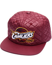 Men - Cleveland Cavaliers Quilted 20 D Snapback Cap