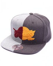 NBA, MLB, NFL Gear - Cleveland Cavaliers Split Heather Snapback Cap