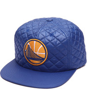 NBA, MLB, NFL Gear - Golden State Warriors Quilted 20 D Snapback Cap