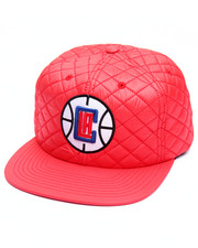 NBA, MLB, NFL Gear - Los Angeles Clippers Quilted 20 D Snapback Cap