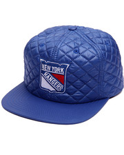 Men - New York Rangers Quilted 20 D Snapback Cap