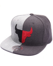 Men - Chicago Bulls Split Heather Snapback Cap