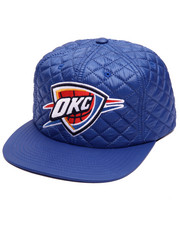 NBA, MLB, NFL Gear - Oklahoma City Thunder Quilted 20 D Snapback Cap
