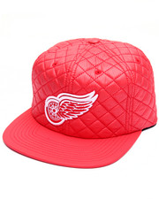 Men - Detroit Red Wings Quilted 20 D Snapback Cap