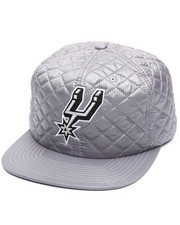 Mitchell & Ness - San Antonio Spurs Quilted 20 D Snapback Cap