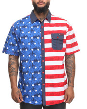 Shirts - Flag S/S Button-Down (B&T)