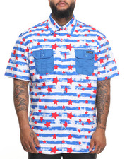 Enyce - Stars and Strips S/S Button-Down (B&T)