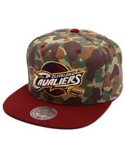 Mitchell & Ness - Cleveland Cavaliers Camo TC Visor Strapback Cap