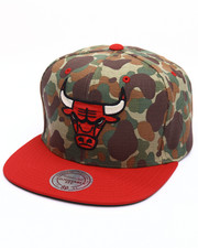 Men - Chicago Bulls Camo TC Visor Strapback Cap