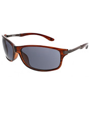 Sunglasses - James Dean Collection Striated Shield Metal Temple  Sunglasses