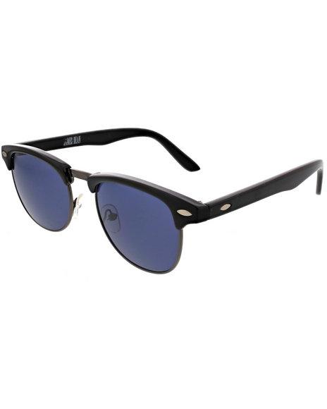 Drj Sunglasses Shoppe Men James Dean Collection Color Lense Animal Black 1SZ