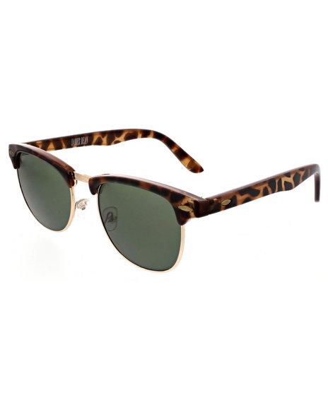 Drj Sunglasses Shoppe Men James Dean Collection Color Lense Animal Gold  Brown 1SZ