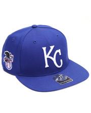 Men - Kansas City Royals Sure Shot 47 Captain Snapback Cap