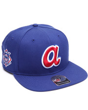 Men - Atlanta Braves Sure Shot 47 Captain Snapback Cap