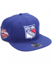 Men - New York Rangers Sure Shot 47 Captain Snapback Cap