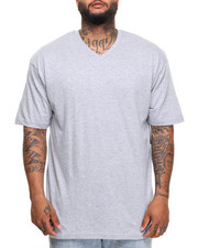 Men - Basic V - Neck S/S Tee (B&T)